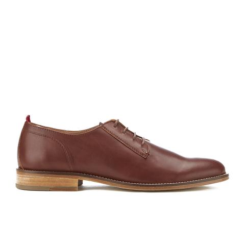 Oliver Spencer Men's Dover Shoes - Tan Leather