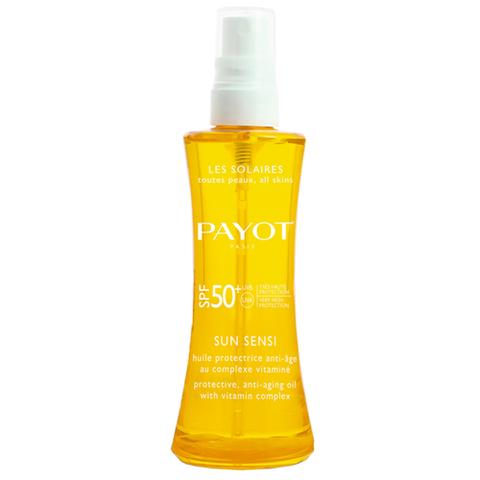 PAYOT Les Solaires Sun Sensi Huile Protectrice Anti-âge SPF 50+ (125ml)