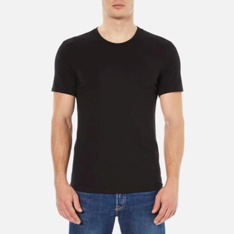 Calvin Klein Men's 2 Pack Crew Neck T-Shirt - Black