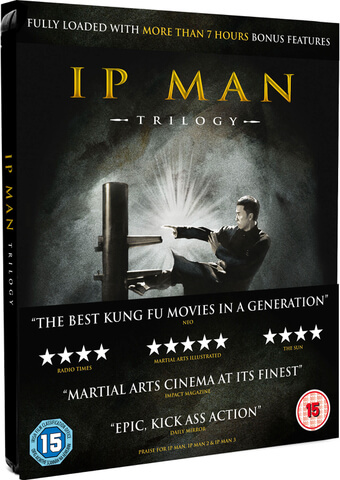 IP Man Trilogy - Limited Editon Steelbook