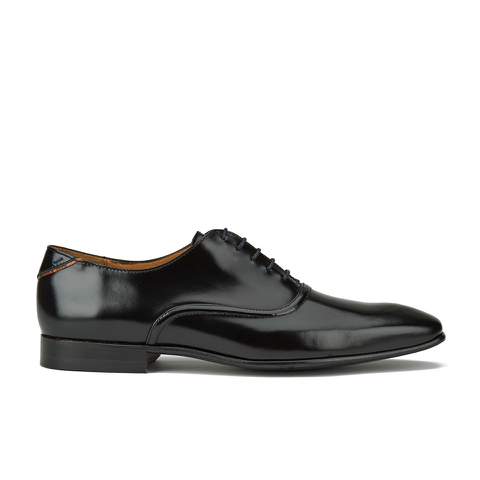 PS by Paul Smith Men's Starling Leather Oxford Shoes - Black High Shine
