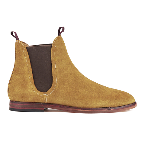 H Shoes by Hudson Men's Tamper Suede Chelsea Boots - Sand