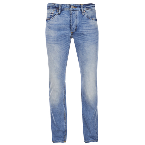 Jack & Jones Men's Originals Mike Straight Fit Jeans - Light Wash