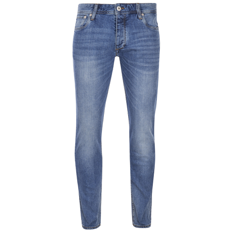 Jack & Jones Men's Originals Tim Slim Fit Jeans - Mid Wash