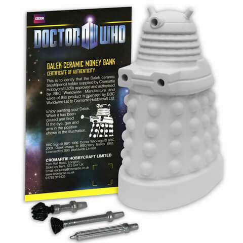 Paint-Your-Own Dalek Money Box