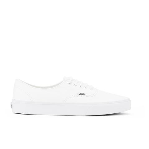 Vans Men's Authentic Decon Premium Leather Trainers - True White