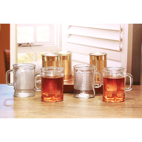 Eddingtons Canned Mug Glasses (Set of 4)