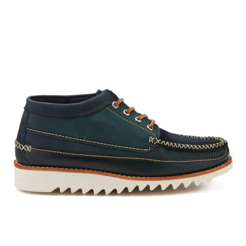 Bass Weejuns Men's Lyndon Low Moc Shoes - Navy