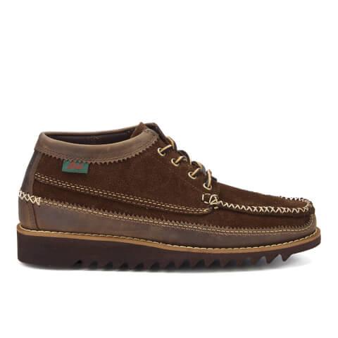 Bass Weejuns Men's Lyndon Low Moc Shoes - Dark Brown
