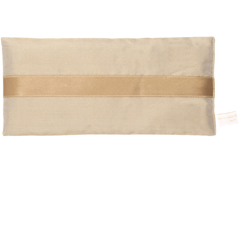 Holistic Silk Lavender Eye Pillow - Bronze