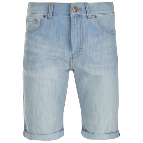 Threadbare Men's Denim Shorts - Light Wash