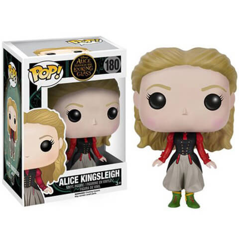 Alicia a Través del Espejo Alice Kingsleigh Pop! Vinyl Figure