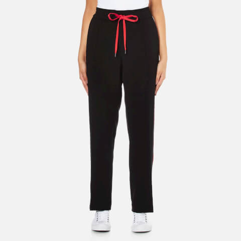KENZO Women's Contrast Side Stripe Jogging Pants - Black