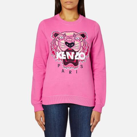 KENZO Women's Tiger Embroidered Sweatshirt - Bergonia