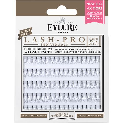 Eylure Lash-Pro Individual Lashes - Multipack Knot Free