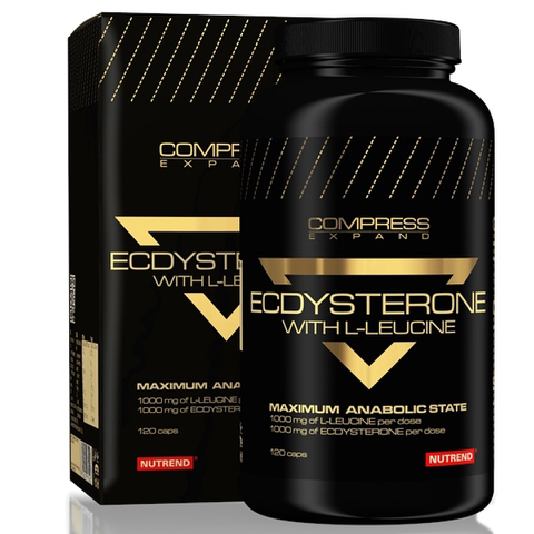 Nutrend Compress Ecdysterone - 120 Capsules