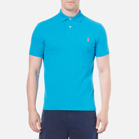 Polo Ralph Lauren Men's Custom Fit Polo Shirt - Maui Blue