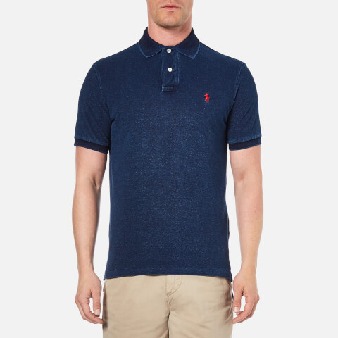 Polo Ralph Lauren Men's Custom Fit Polo Shirt - Dark Indigo