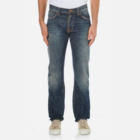 Nudie Jean's Men's Steady Eddie Straight Jeans - James Replica