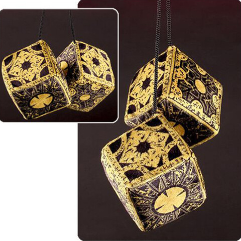Hellraiser Lament Configuration Fuzzy Dice Plush
