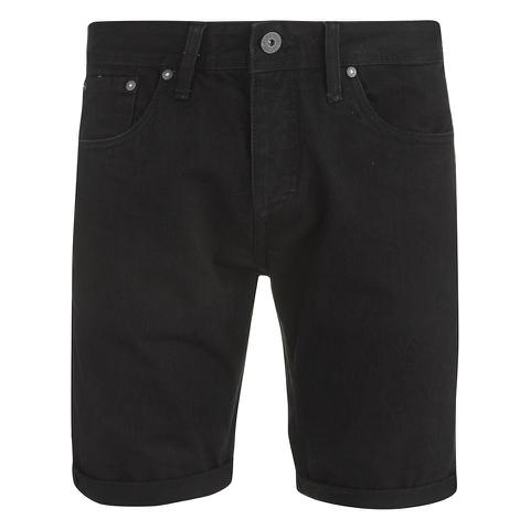 Jack & Jones Men's Rick Original Denim Shorts - Black