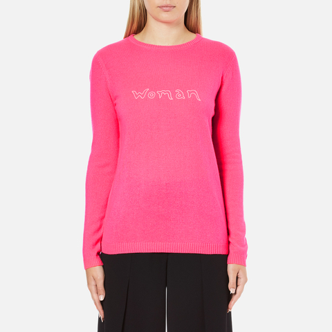 Bella Freud Women's Woman Cashmere Jumper - Pink