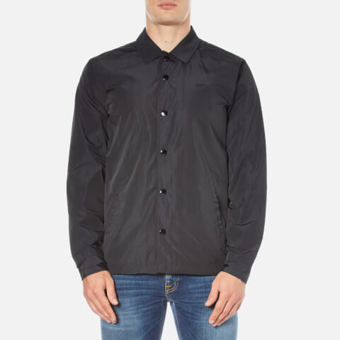 OBEY Clothing Men's Baker Graphite Coach Jacket - Black
