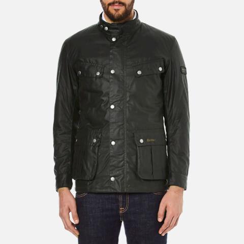 Barbour International Men's Duke Wax Jacket - Sage