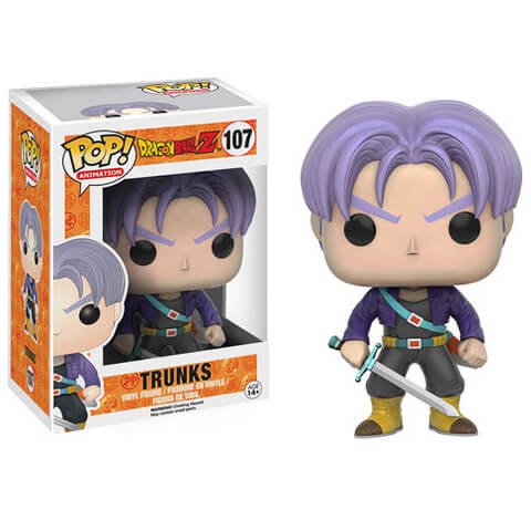 Bola de Dragón Z Trunks Pop! Vinyl Figure