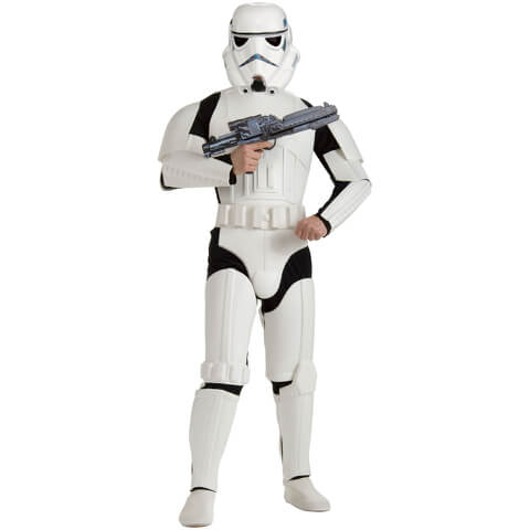 Star Wars Men's Deluxe Stormtrooper Fancy Dress