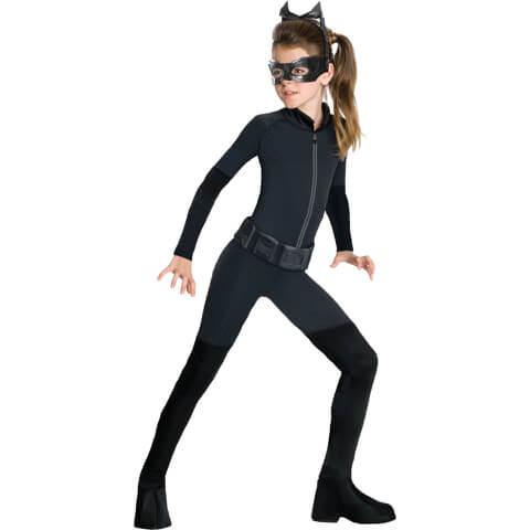 DC Comics Batman Girls' Catwoman Fancy Dress