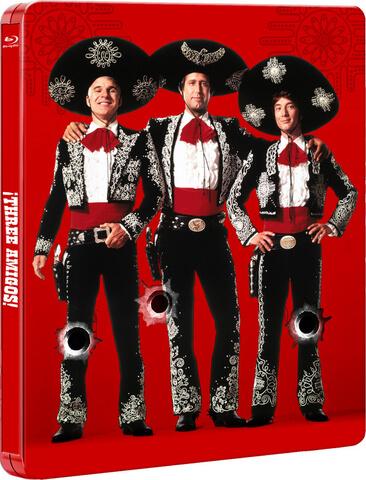 Three Amigos - Limited Edition Steelbook