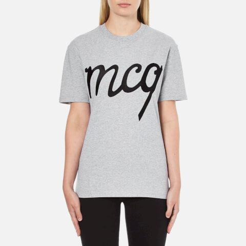 McQ Alexander McQueen Women's Classic T-Shirt - Grey Melange