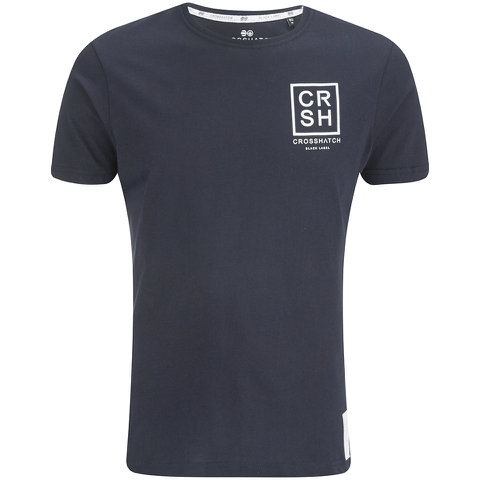 Crosshatch Men's Hicker Graphic T-Shirt - Night Sky