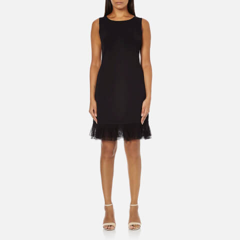 Theory Women's Torylevina Lustrate Mini Dress - Black