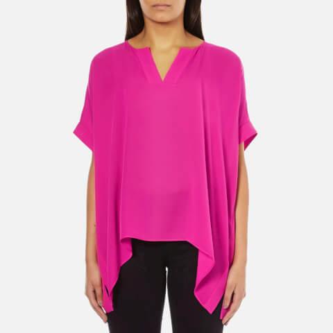 Diane von Furstenberg Women's Abbi Top - Vivid Pink