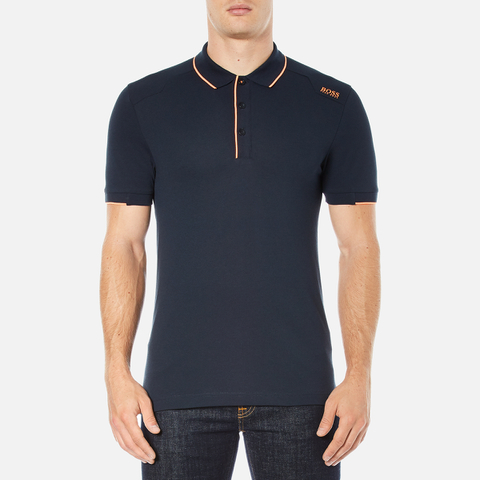 BOSS Green Men's Paule 1 Polo Shirt - Blue