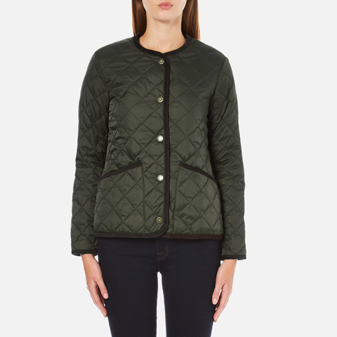 Barbour Heritage Women's Oversized Liddesdale Jacket - Sage