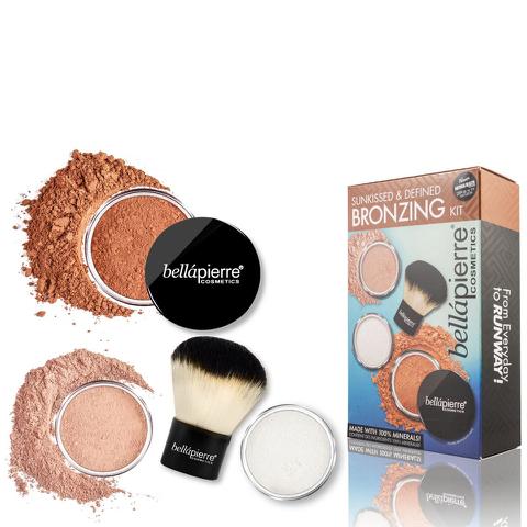 Bellapierre Cosmetics Sunkissed & Defined Bronzing Kit