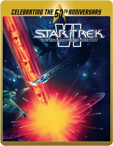 Star Trek 6 - Das unentdeckte Land - Limited Edition 50. Jubiläums Steelbook