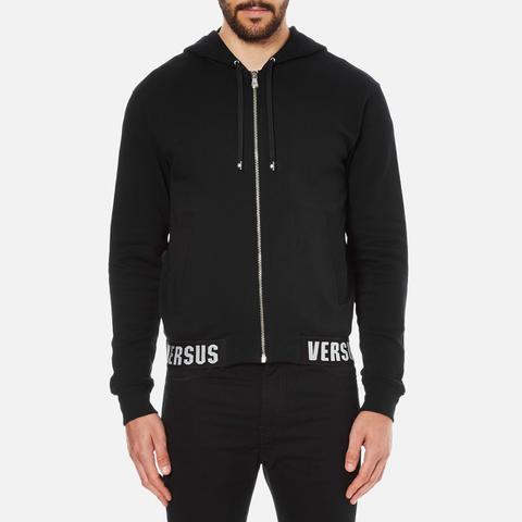 Versus Versace Men's Welt Detail Hoody - Black