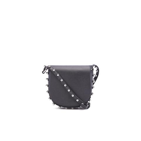 Alexander Wang Women's Mini Lia Cross Body Bag with Studs - Black