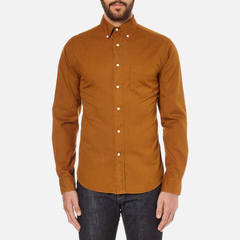 GANT Rugger Men's Dreamy Oxford Garment Dyed Shirt - Toffee