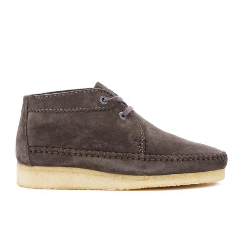 Clarks Originals Men's Weaver Boots - Charcoal Suede