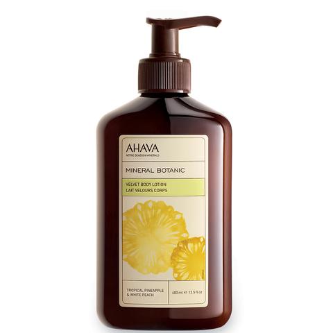 AHAVA Mineral Botanic Velvet Body Lotion - Tropical Pineapple and White Peach
