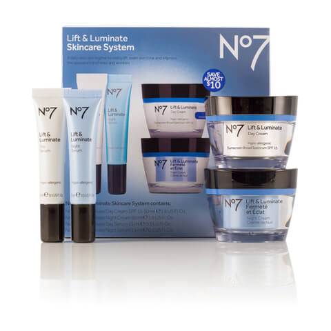 Boots No.7 Lift and Luminate Skincare System