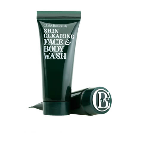 Clark's Botanicals Skin Clearing Face and Body Wash