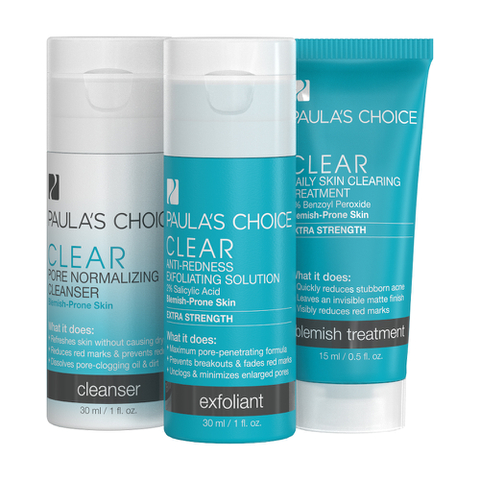 Paula's Choice Clear Extra Strength Two Week Trial Kit