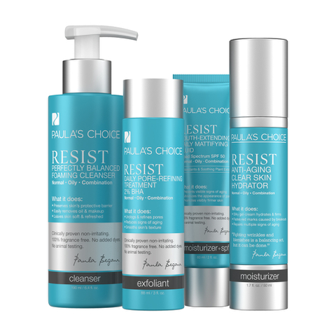 Paula's Choice Resist Simple Kit for Wrinkles and Breakouts
