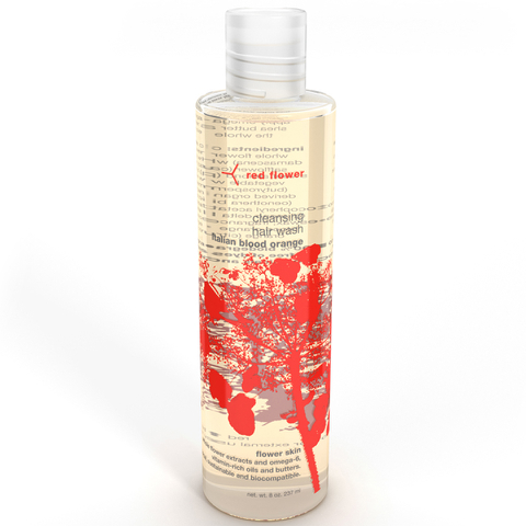 Red Flower Italian Blood Orange Cleansing Hair Wash